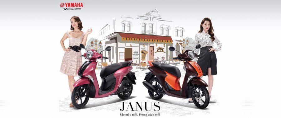 Yamaha Janus phiên bản đặc biệt thêm 2 màu mới: Hồng và Nâu