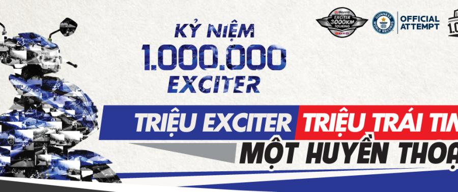 Yamaha Exciter bản đặc biệt mừng 1 triệu xe bán ra tại Việt Nam